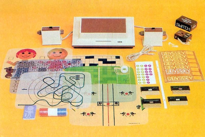 Всё, чем комплектовалась Magnavox Odyssey