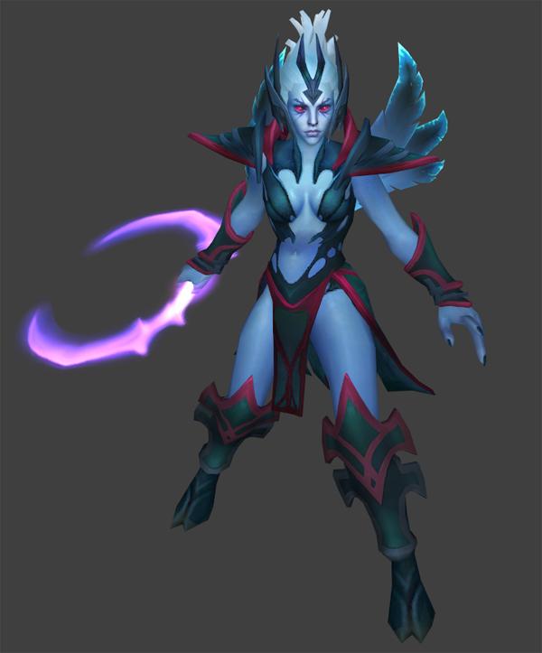 Vengeful Spirit четвёртая модель