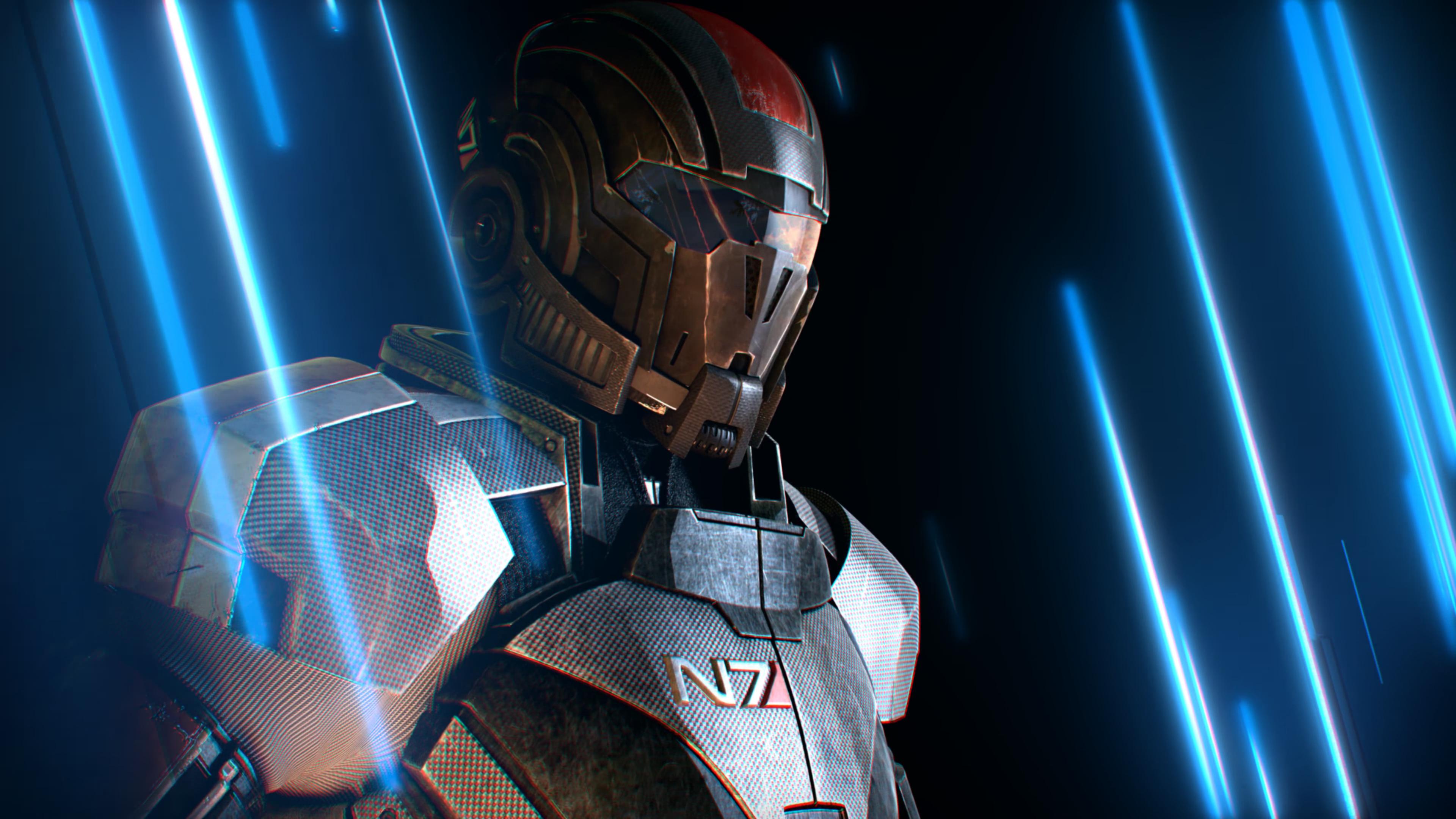Новая заставка от BioWare также впечатляет