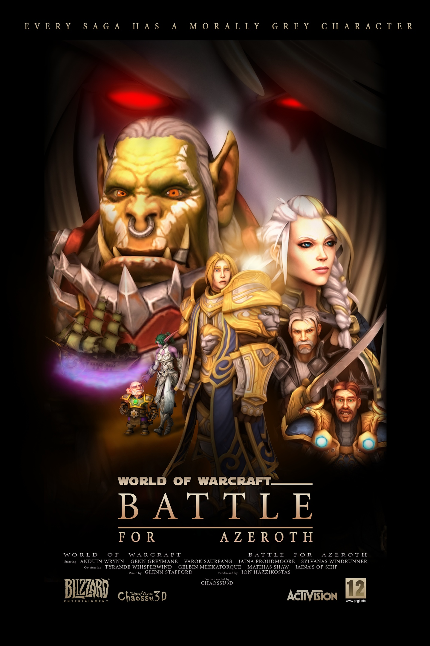 Revenge Of The Sith In Warcraft Iii The Artist Redid The Posters Of Star Wars Freemmorpg Top