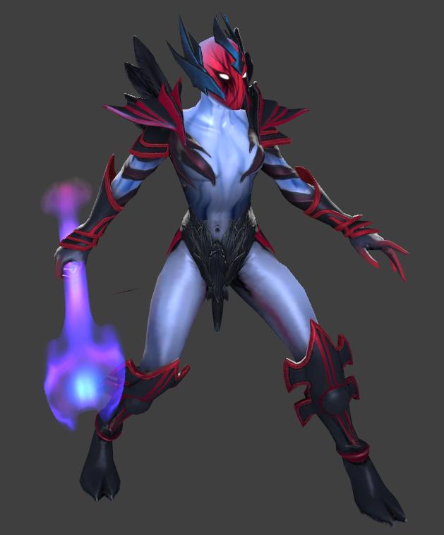 Vengeful Spirit первая модель