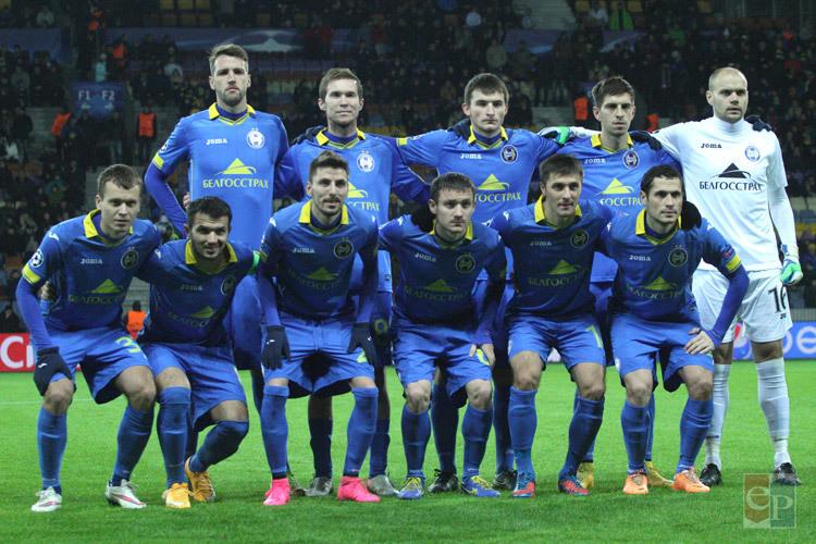 Лига чемпионов футбол батэ против рома байер барселона