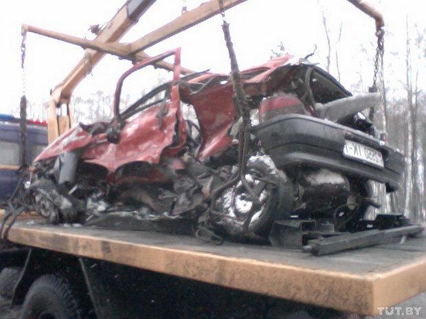 9 марта 2013 года. Крупная авария на выезде из Бреста: 2 человека погибли