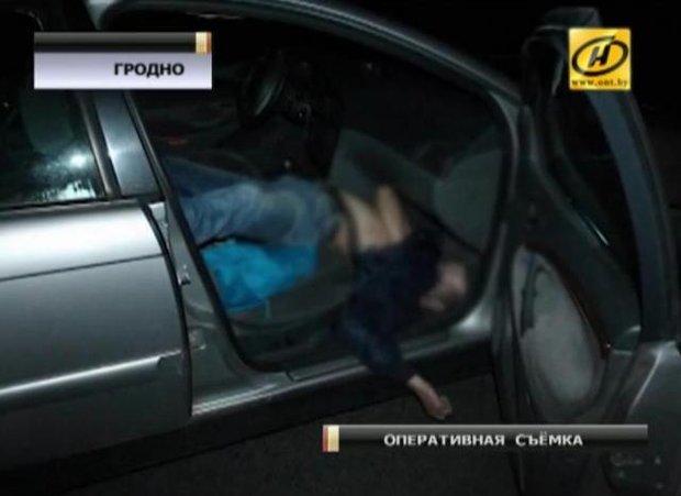 Скриншот с видео, предоставленного правоохранительными органами телеканалу ОНТ