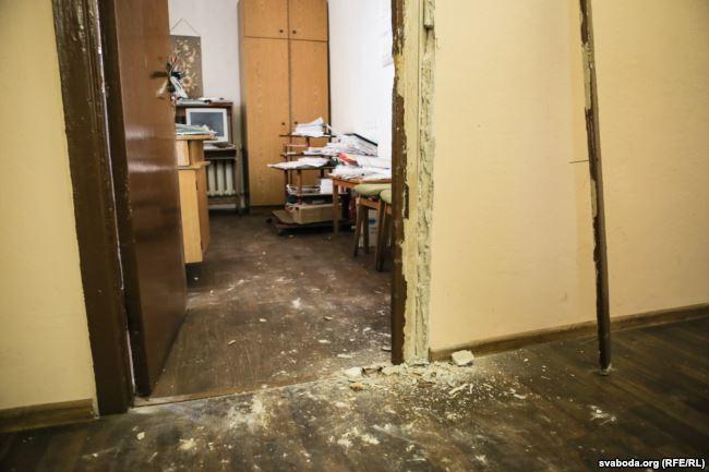 Пасьля ператрусу ў менскім офісе прафсаюзу радыёэлектроннай прамыcловасьці