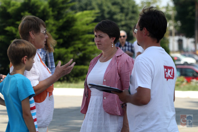 В Борисов приехала инициативная группа Татьяны Короткевич