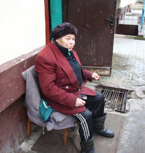 Тамара Афанасьевна, она же - Америка