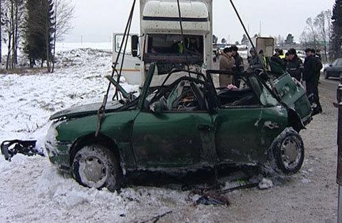 Страшная авария под Минском. Погибли 5 человек.