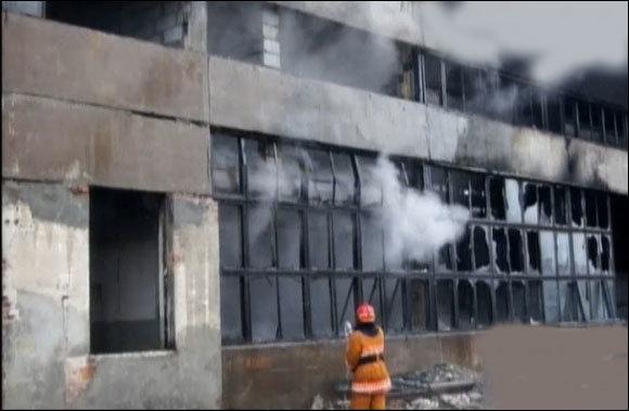 пожар на предприятии гефест-техника
