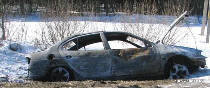 В Дзержинске мужчина, чтобы отомстить брату, угнал его автомобиль и поджег