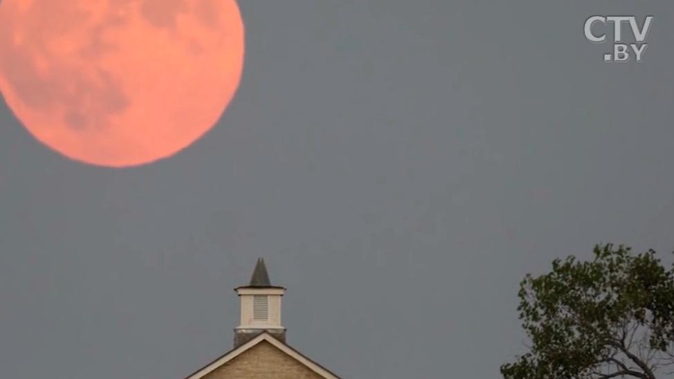 «Кровавая» Луна в Беларуси