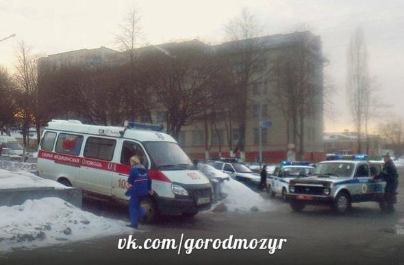 Фото мозырской перестрелки выложили в Сеть