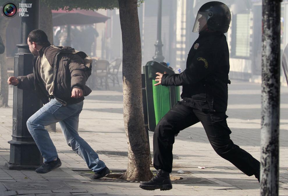 The Tunisia Revolution