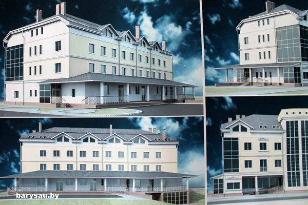 В Борисове вместо соснового леса на перекрестке Гагарина и Даумана появится административно-бытовой центр.