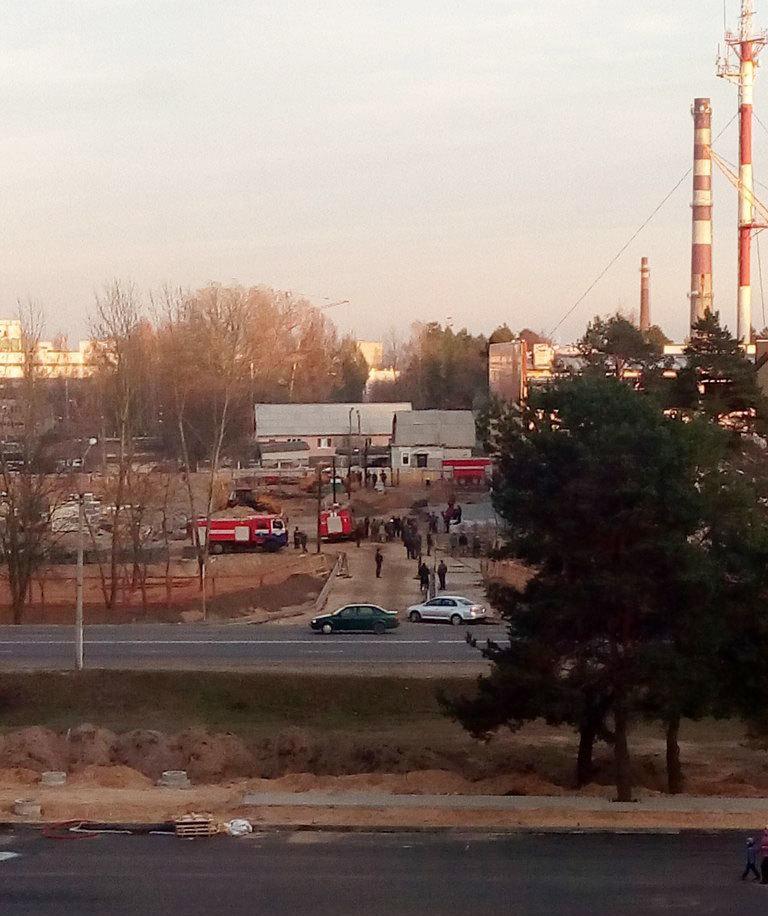 В Борисове обрушились бетонные конструкции Евроопта: есть пострадавшие