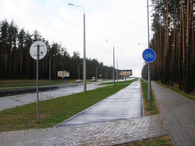 Легко ли быть велосипедистом в Борисове