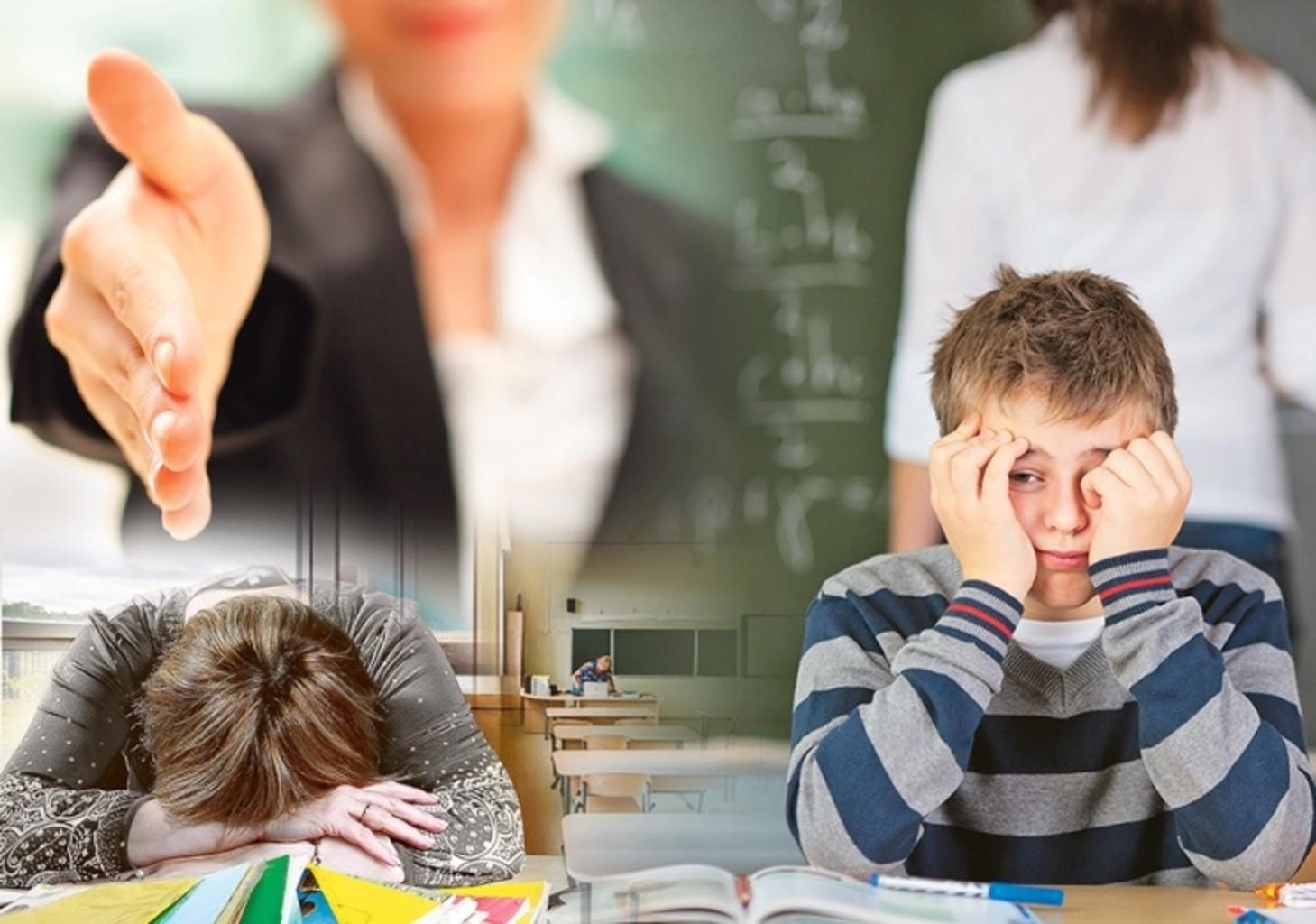 учитель недоволен учеником картинка установкой