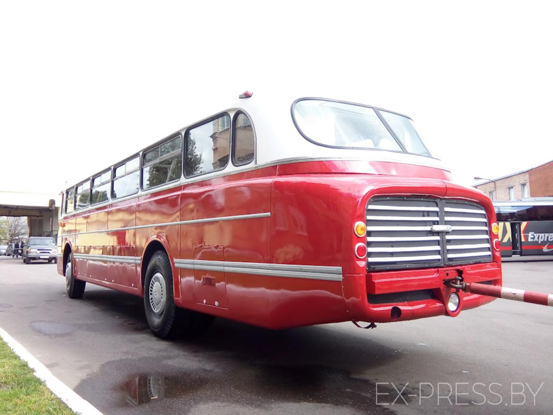 Как выглядел в Борисове культовый автобус 70-х. Ретро ...