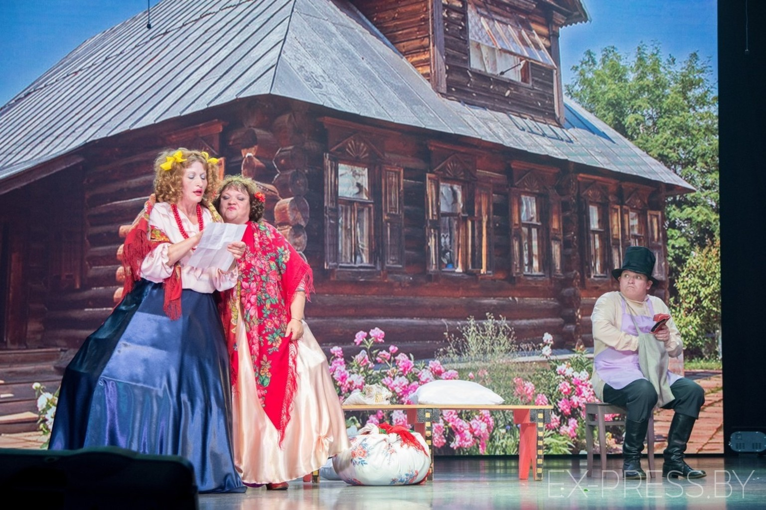 Конкурс самодеятельности в ДК БелАЗ