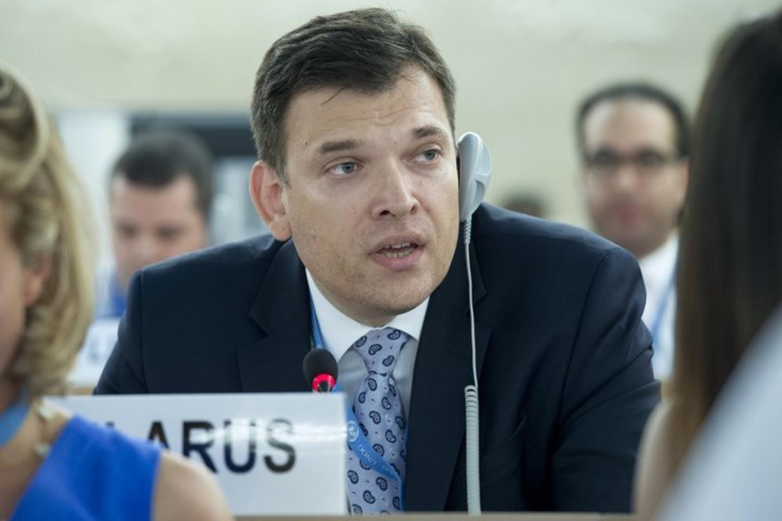 Юрий Амбразевич. Фото: пресс-служба ООН