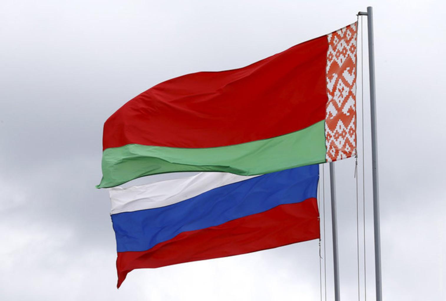Belarus rossiya flag reuters rtx2aoj9