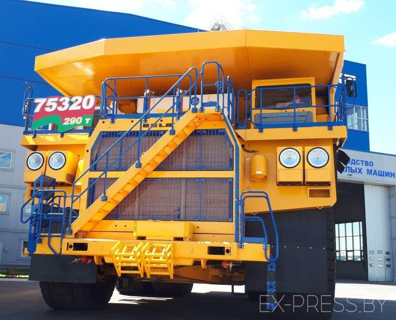 На БЕЛАЗе представили 290-тонный автомобиль