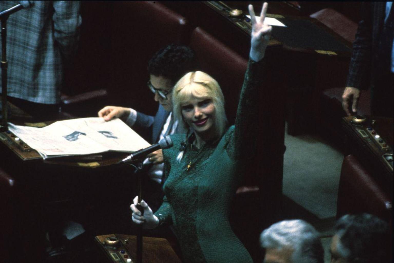 Cicciolina 1987 parliament