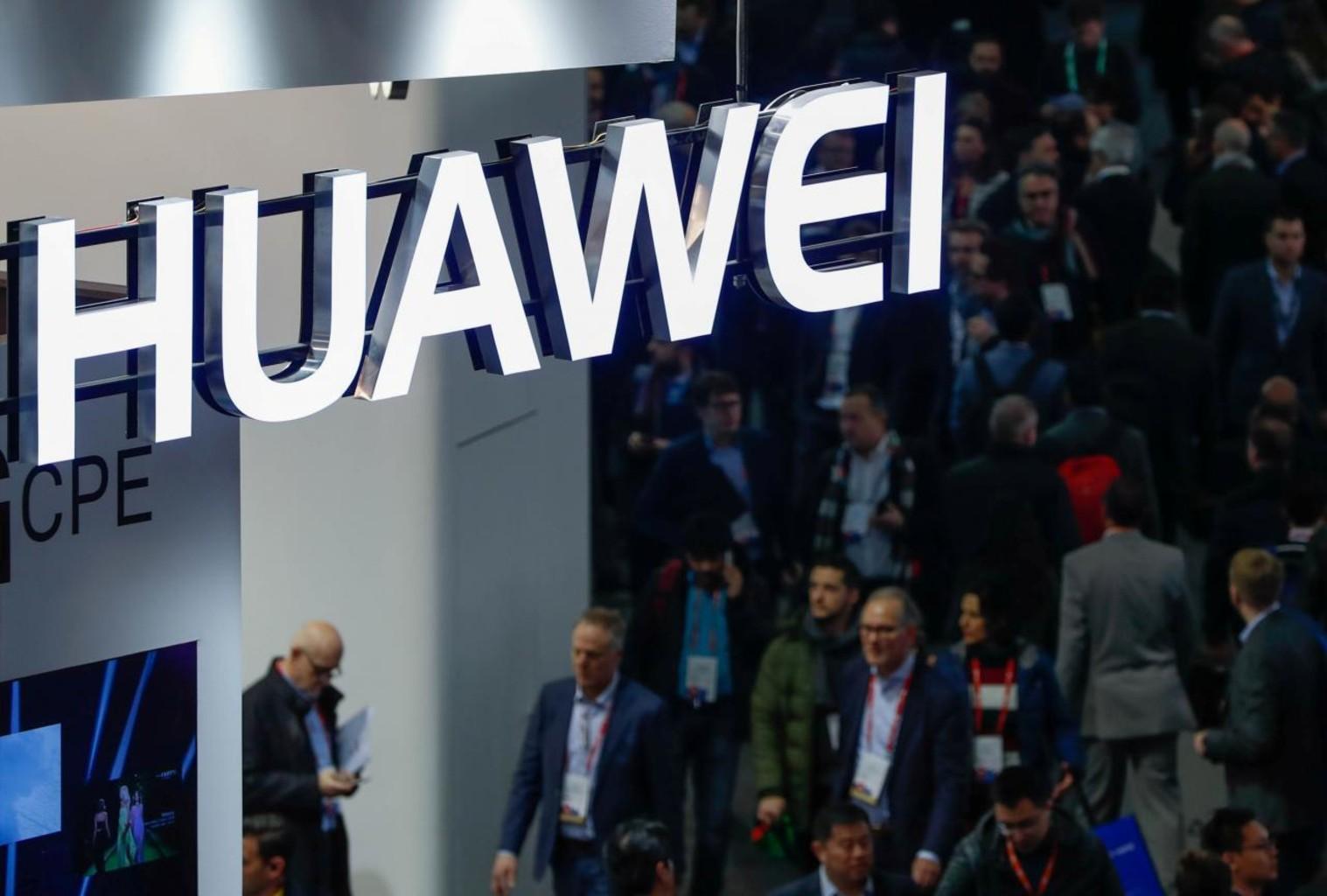 Huawei logo reuters