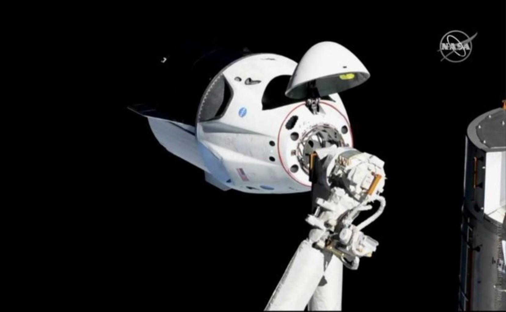 Капсула Сrew Dragon (Фото: NASA / Reuters)
