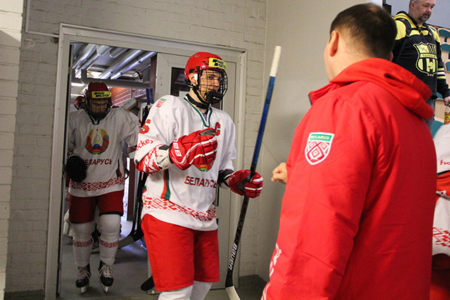 Владислав Колячонок. Фото: hockey.by