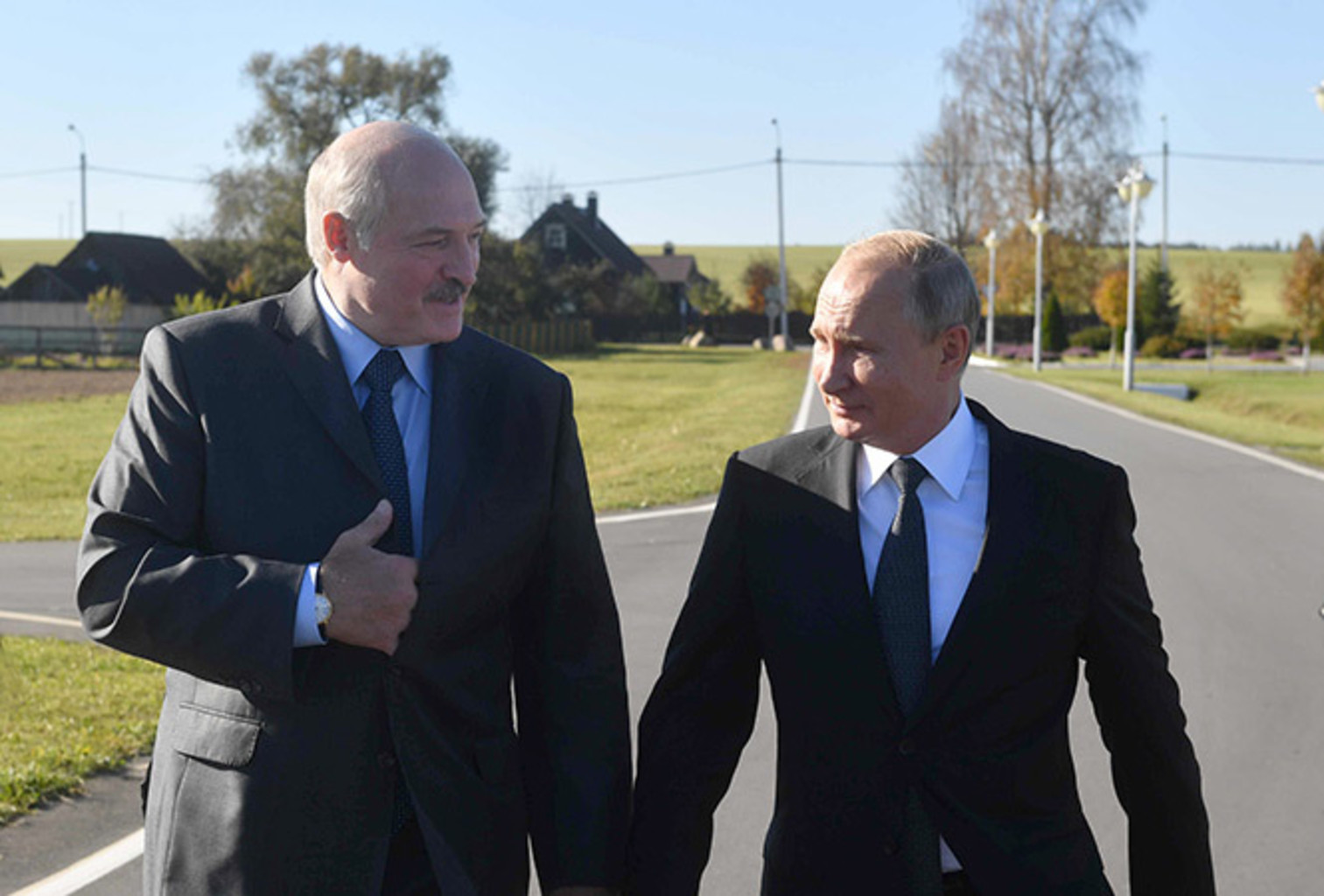 Lukashenko putin aleksandriya 12102018