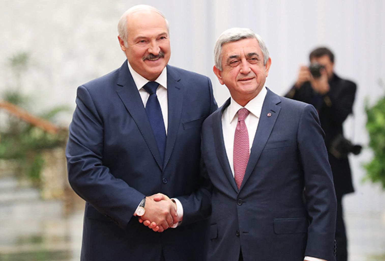 Lukashenko sargsyan 2017