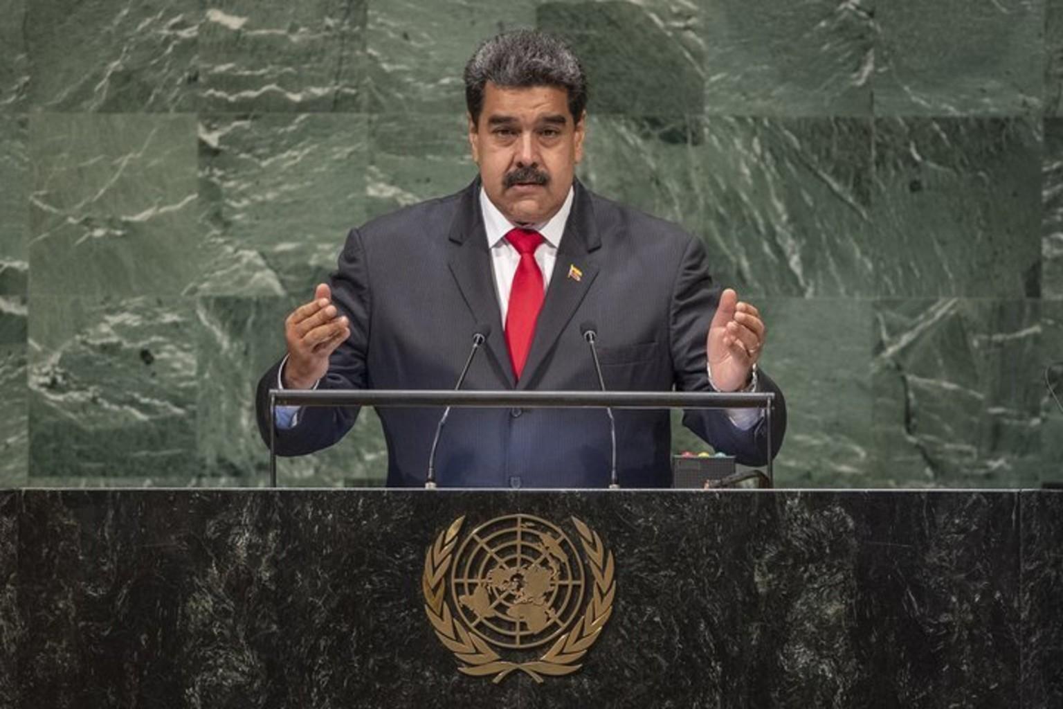 Президент Венесуэлы Николас Мадуро. Фото: пресс-центр ООН
