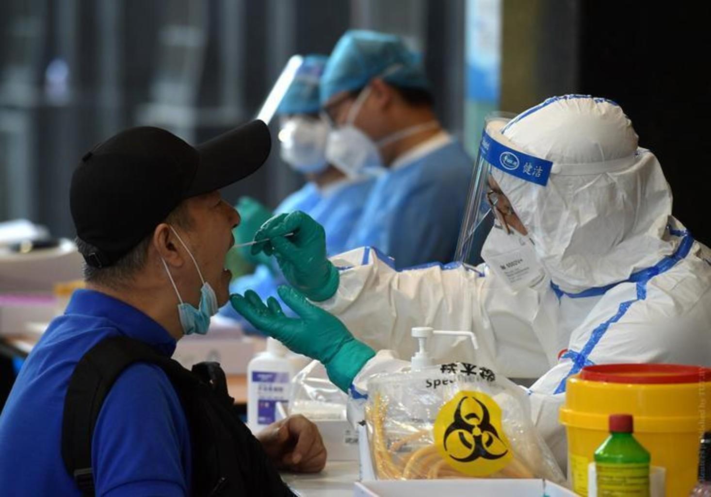 Maska koronavirus test vspyshka pekin