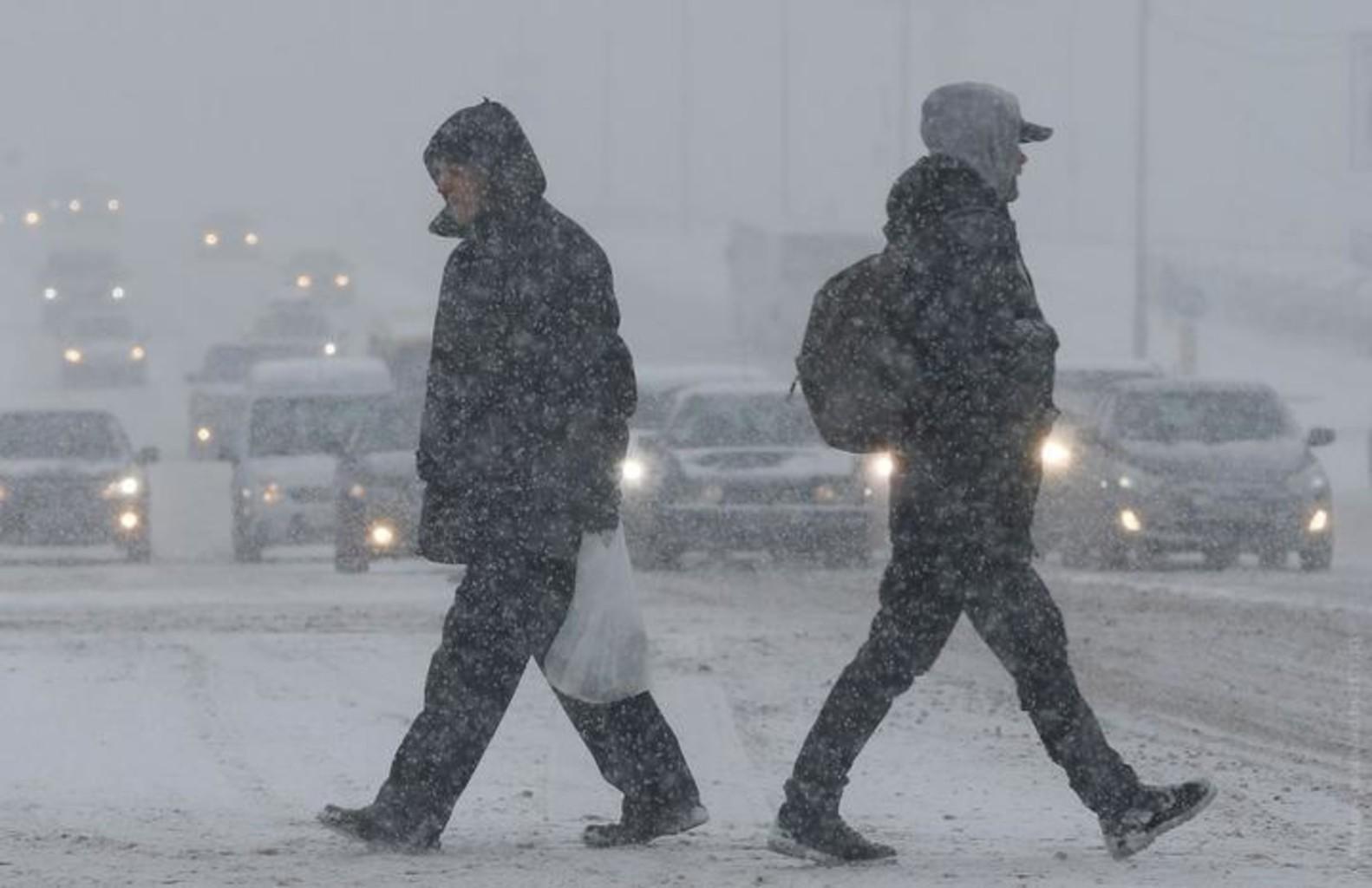 Meteli ukraina snegopad yanv2018
