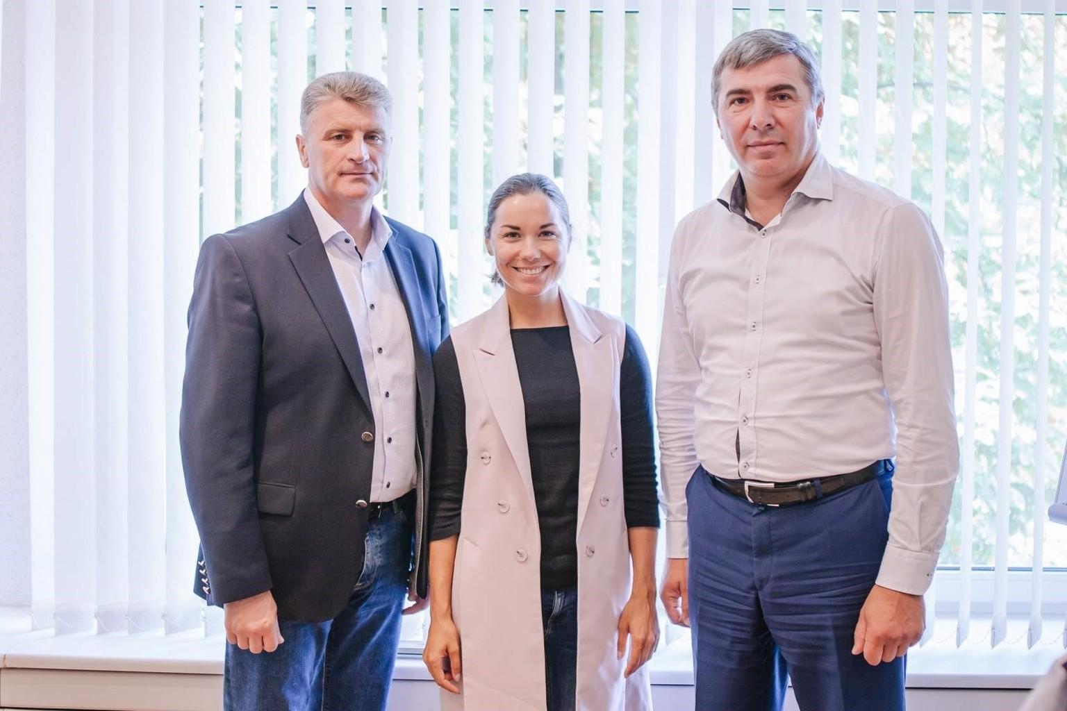 Олимпийская чемпионка Надежда Скардино будет сотрудничать с ОАО «Свiтанак»