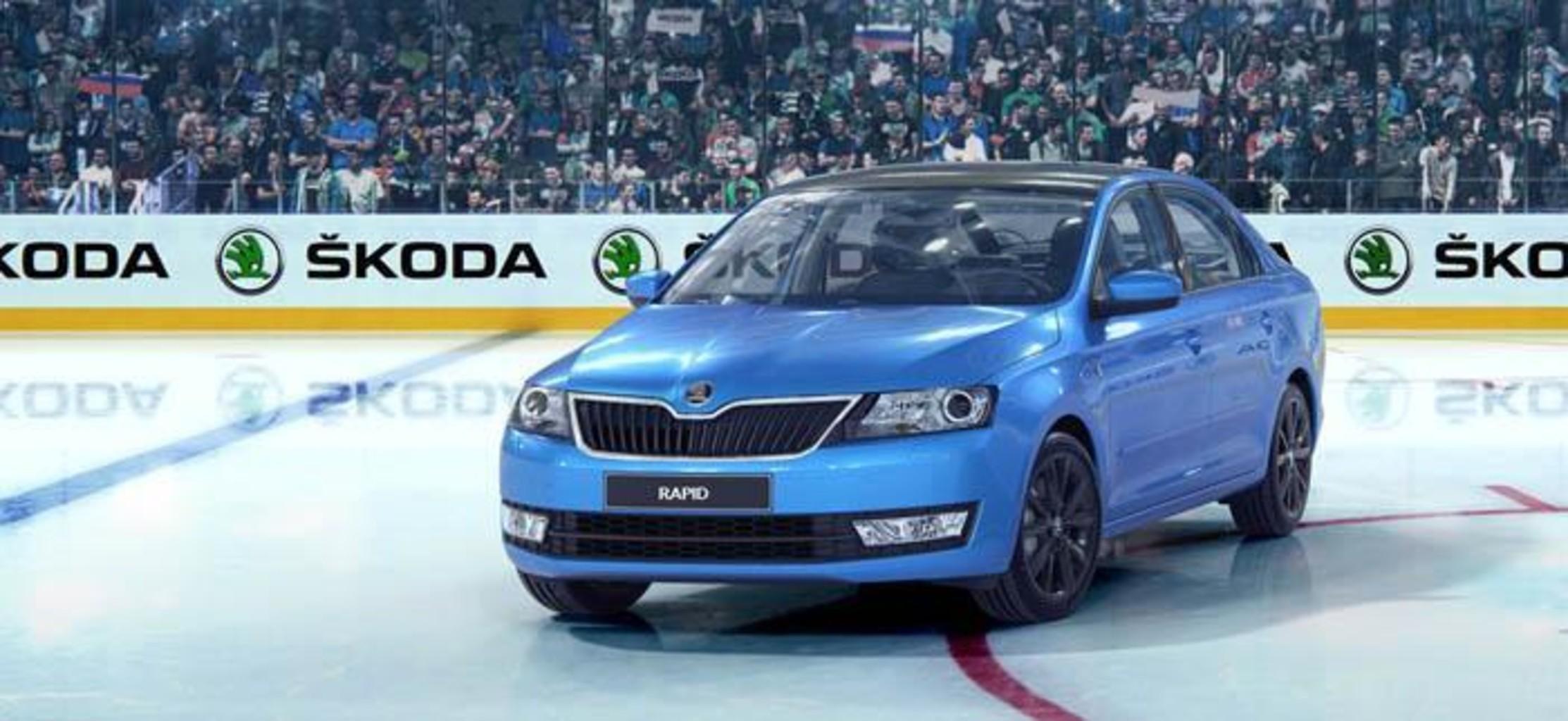 Skoda rapid hockey edition 1