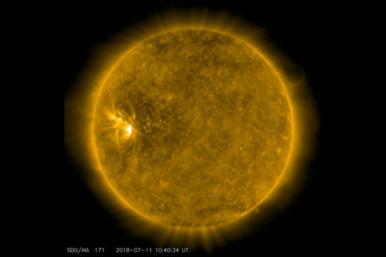 Изображение: SDO, NASA / tesis.lebedev.ru