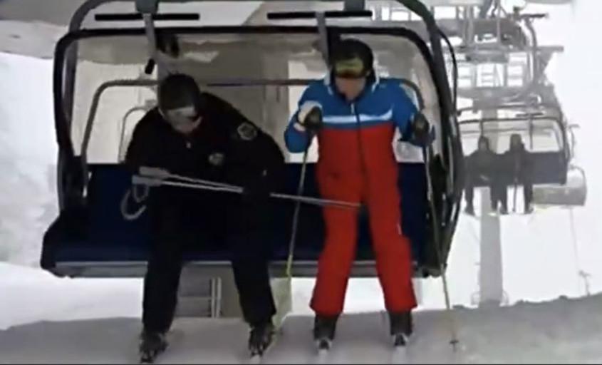 «Александр Григорьевич! Аккуратней с палками!». Конфуз в Сочи (видео)