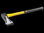 """Топор-колун Stayer кованый с двухкомпонентной фиберглассовой рукояткой, """"ушастый"""", 2.0 кг (20623-20)"""