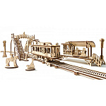 Конструктор UGEARS Трамвайная линия