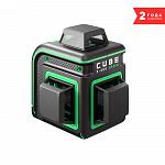 Уровень лазерный ADA CUBE 3-360 GREEN BASIC EDITION