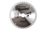 Диск пильный по дереву Hammer CSB 210x30/20мм 48T