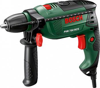 Ударная дрель Bosch PSB 750 RCE