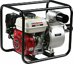 Мотопомпа Honda WB30 для слабозагрязнённой воды