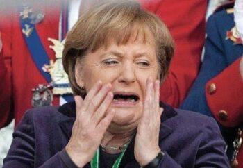 КиберБеркут нанёс удар по канцлеру Германии Ангеле Меркель