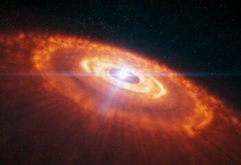 Астрономы потрясены величественным зарождением звёздной системы