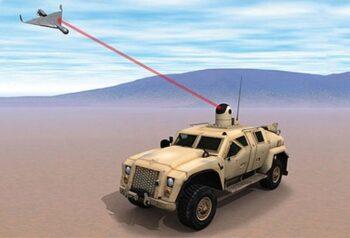 Китай будет уничтожать дронов лазером
