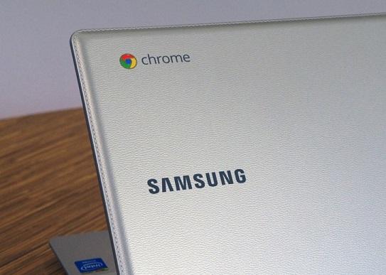 Samsung выпустил кожаный Chromebook