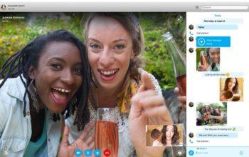 Новый Skype для настольных ПК